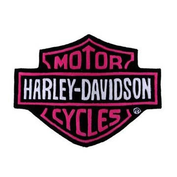 Incredible Harley Davidson Plush Rug Pink Interior Design Ideas Clesiryabchikinfo