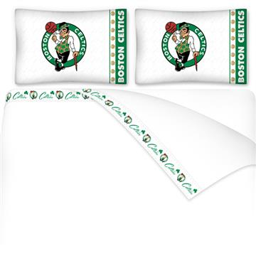 Boston Celtics Microfiber Sheet Sets & Extra Pillowcases | By DomesticBin