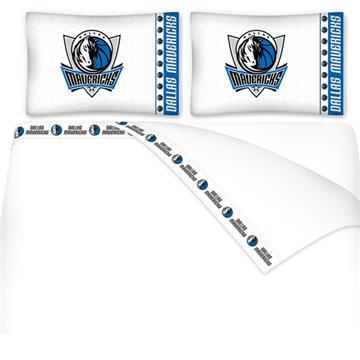 Dallas Mavericks Microfiber Sheet Sets & Extra Pillowcases | By DomesticBin