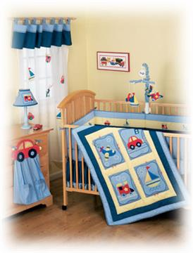 Oh Boy Infant Bedding
