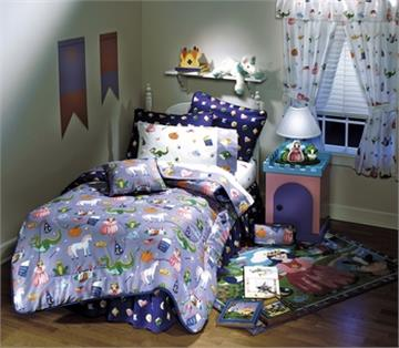 HAPPILY EVER AFTER  Kids Bedding by Olive Kids Twin Bedskirt | By DomesticBin