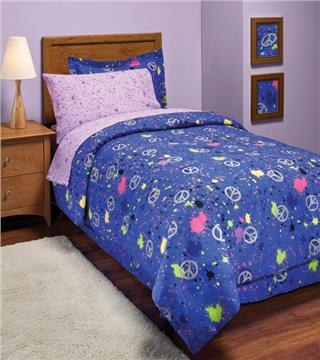 PEACE OUT Bed In A Bag Sets for Girls and Boys