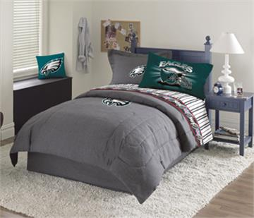 Philadelphia Eagles Denim Bedding Accessories   By DomesticBin. Philadelphia Eagles Denim Comforter   Sheet Set Combo