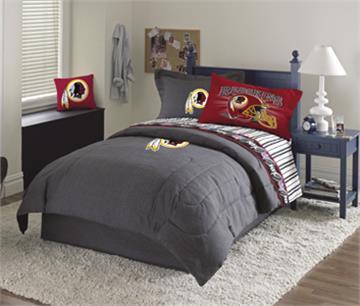 Washington Redskins Denim Comforter & Sheet Set Combo | By DomesticBin