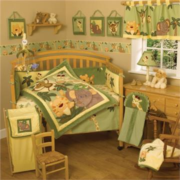 Jungle Babies Infant Bedding | By DomesticBin