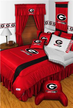 Sidelines GEORGIA BULLDOGS Bedding | By DomesticBin