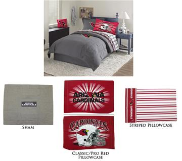 Arizona Cardinals NFL  Denim Bedding | By DomesticBin