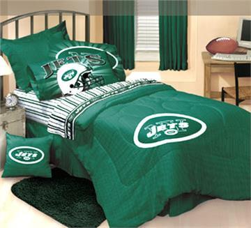 NFL LOGO New York Jets Bedding | By DomesticBin