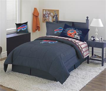 Buffalo Bills Denim Bedding   By DomesticBin