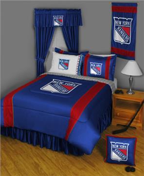 Sidelines NEW YORK RANGERS NHL Bedding | By DomesticBin