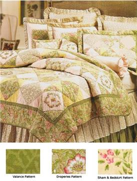 Ashleigh Cotton Quilts and Bedding Accessories
