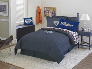 SAN DIEGO PADRES Denim Comforter & Sheet Set Combo
