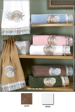 By The Sea Embellished Bath Towel Sets
