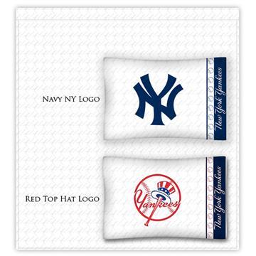 New York Yankees Locker Room Sheet Sets