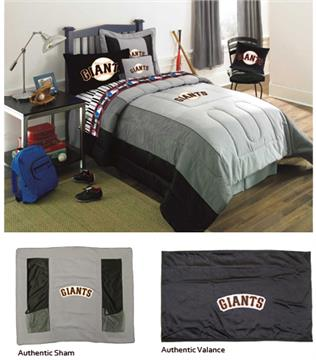 SAN FRANCISCO GIANTS Authentic Bedding Accessories | By DomesticBin