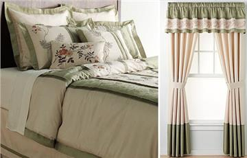 Ashlyn 8pc Comforter Sets & Window Treatments