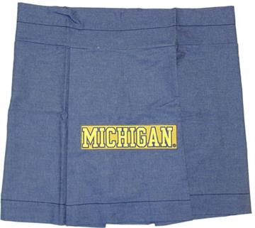 University of Michigan Denim Bedding & Accessories for Kids | By DomesticBin