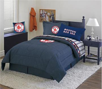 BOSTON RED SOX Denim Bedding