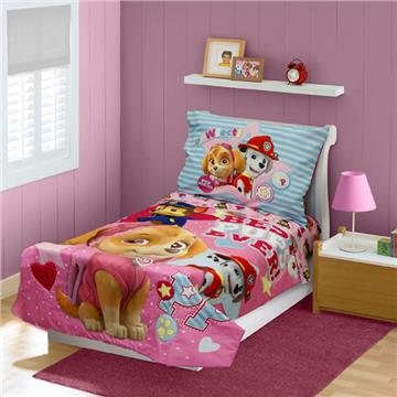 "Paw Patrol ""Skye Best Pups"" Toddler Bedding Set"