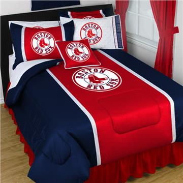 Boston Red Sox Sidelines Bedding | By DomesticBin