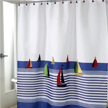 Regatta Shower Curtain & Accessories | By DomesticBin