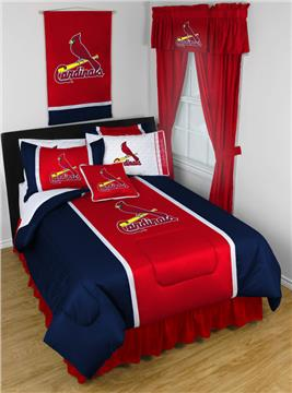St. Louis Cardinals Sidelines Bedding   By DomesticBin