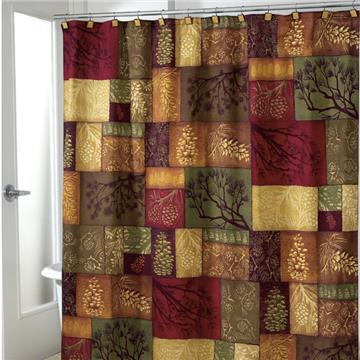 Adirondack Pine Shower Curtain U0026amp; Accessories | By DomesticBin