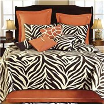 "Zebra ""Expedition"" Cotton Filled Quilts & Bedding Accessories"