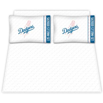 Los Angeles Dodgers Microfiber Sheet Sets & Extra Pillowcases | By DomesticBin