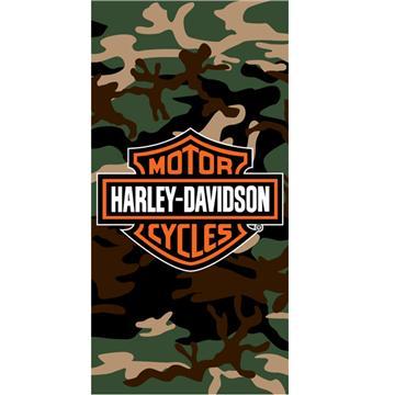 Harley Davidson Camo Beach Towel | By DomesticBin