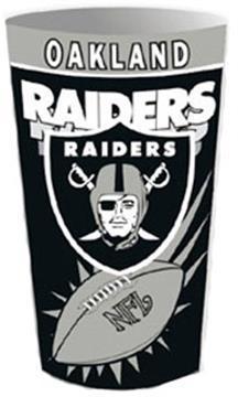 Oakland Raiders Wastebasket | By DomesticBin