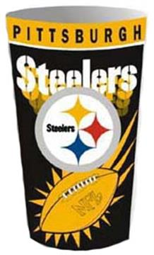 Pittsburgh Steelers Wastebasket | By DomesticBin