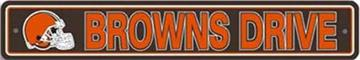 Cleveland Browns Street Sign | By DomesticBin