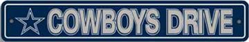 Dallas Cowboys Street Sign | By DomesticBin