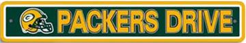 Green Bay Packers Street Sign | By DomesticBin
