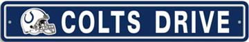 Indianapolis Colts Street Sign | By DomesticBin