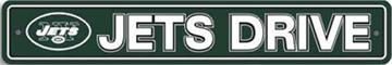 New York Jets Street Sign   By DomesticBin
