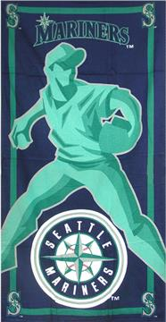 SEATTLE MARINERS Game Day Beach Towel | By DomesticBin