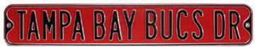 Tampa Bay Bucs Dr Steel Street Sign | By DomesticBin