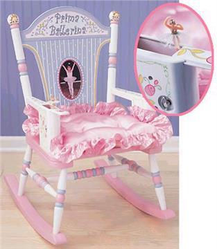 Prima Ballerina Rocker | By DomesticBin