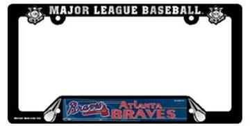 Atlanta Braves License Plate Frame | By DomesticBin