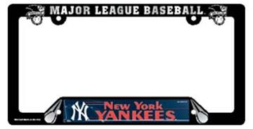 New York Yankees License Plate Frame   By DomesticBin