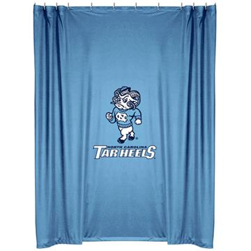 North Carolina Tar Heels Shower Curtain   By DomesticBin