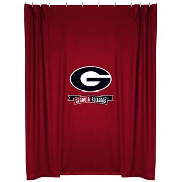 Georgia Bulldogs Shower Curtain | By DomesticBin