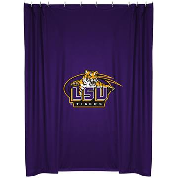 LSU Tigers Shower Curtain | By DomesticBin