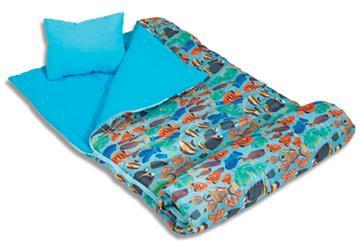 TROPICAL FISH Slumber Bags | By DomesticBin