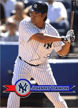 Johnny Damon Tapestry Throw | By DomesticBin