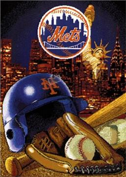 New York Mets Tapestry Throw | By DomesticBin