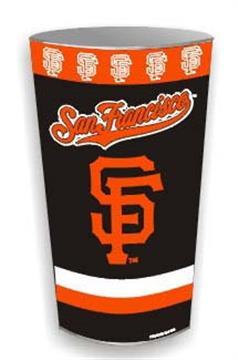 San Francisco Giants Wastebasket | By DomesticBin