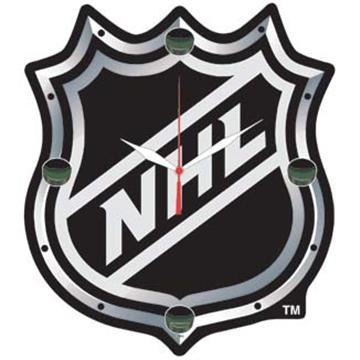 NHL High Def. Plaque Clock | By DomesticBin